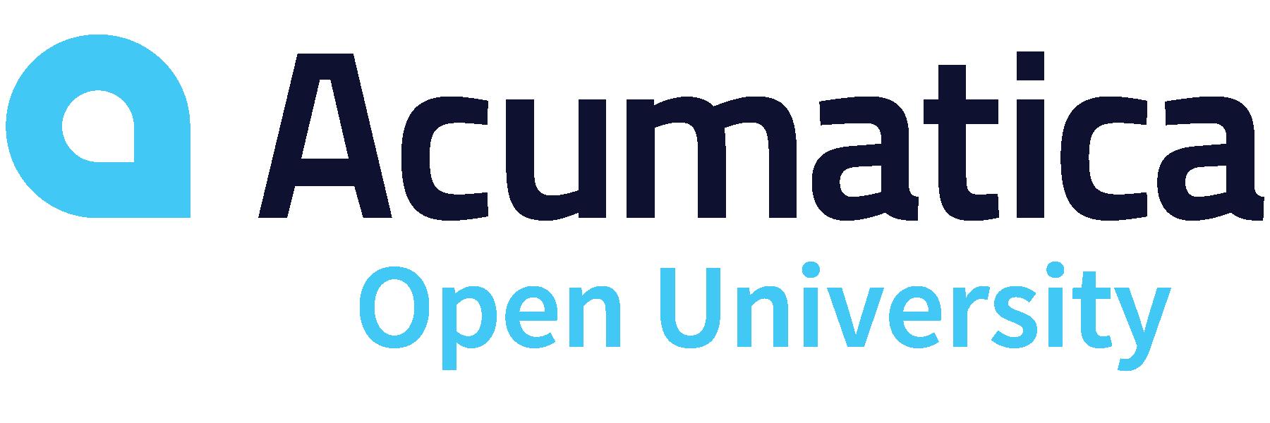 Acumatica Open University